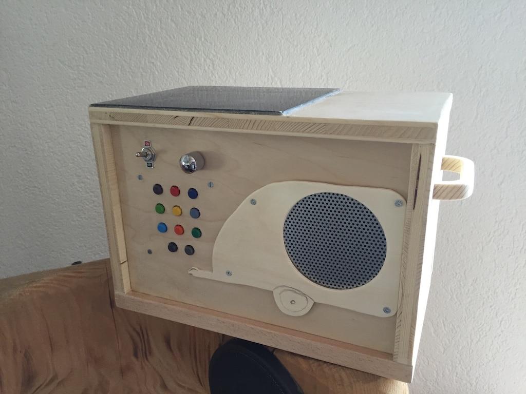mp3 Player für Kinder mit Solarzellen
