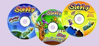 Französische Kinderlieder von Stéphy CDs