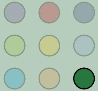 Illustration: Grüne Taste