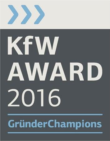 KFW Award 2016: GründerChampions