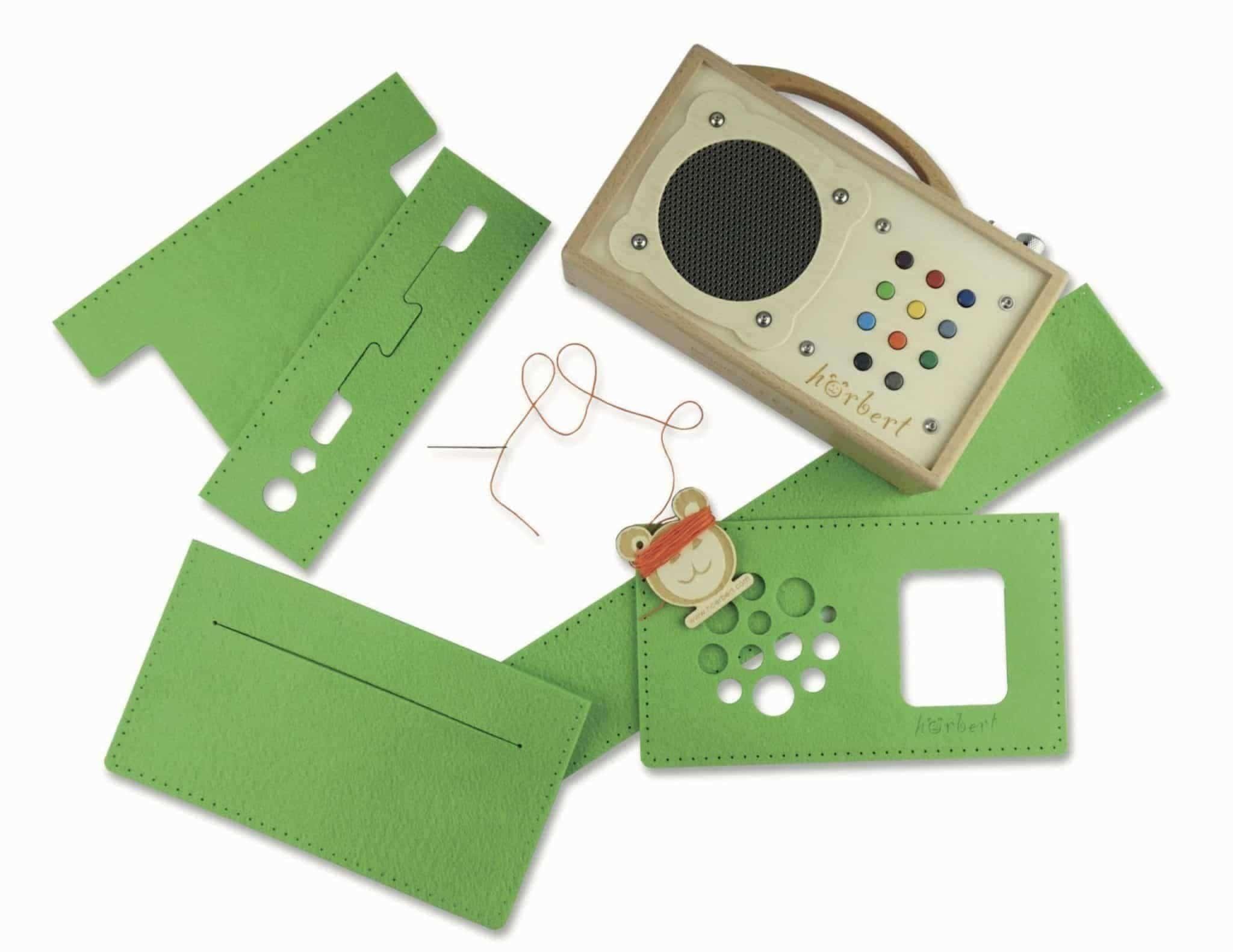 Kit de couture pour un sac en feutre hörbert