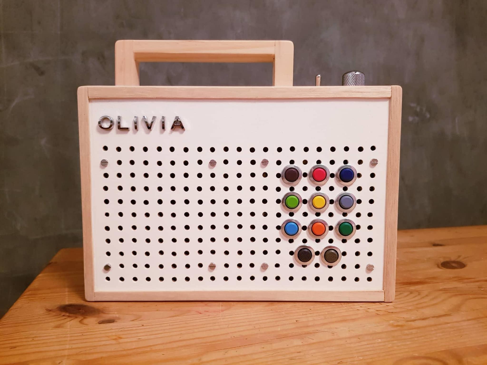 Olivias Eigenbau-Player