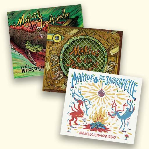 Marius und die Jagdkapelle CD Cover