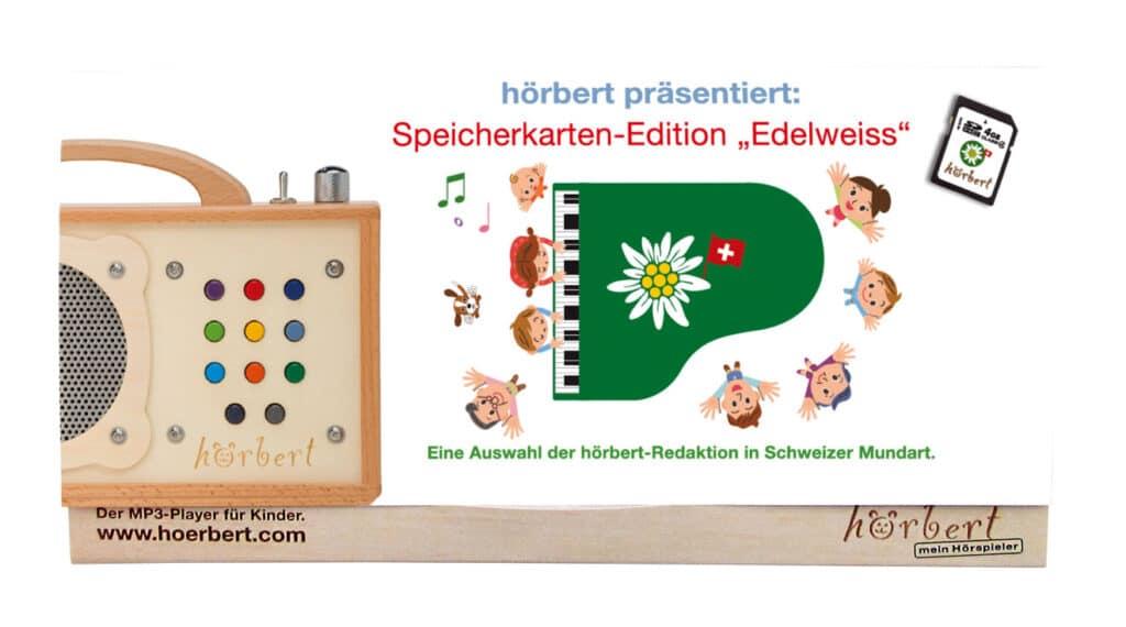 Mappe der Speicherkartenedition Edelweiss