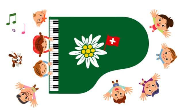 Speicherkarte Edelweiss mit Hörspielen und Musik in Schwitzerdeutsch