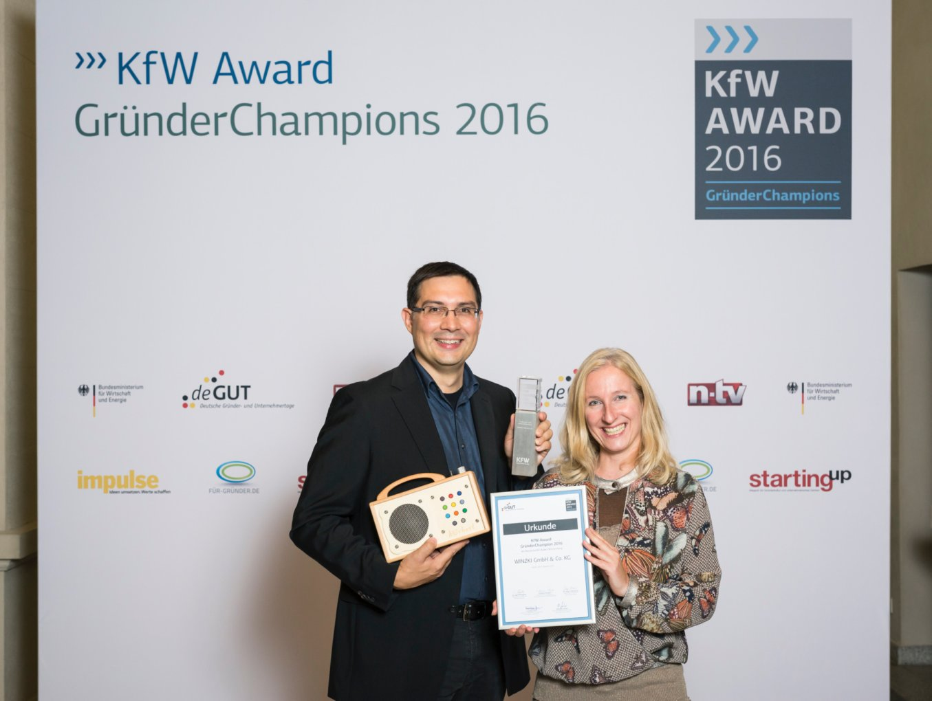 Preisverleihung KfW Award