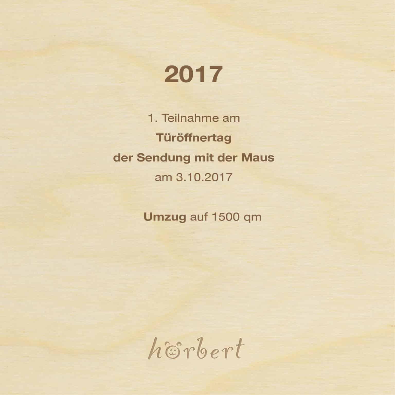 2017 Jubiläum 10 Jahre