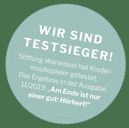 hörbert 10 Jahre Stiftung Warentest