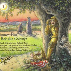 CD mit dem Musikhörspiel Jimmy-Flitz