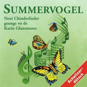 CD mit Schwizerdütschen Liedern von Karin Glanzmann