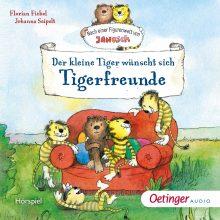 Janosch CD Cover Tigerfreunde